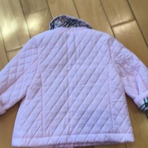 Burberry Jackets & Coats - Burbery pink baby 12months  jacket